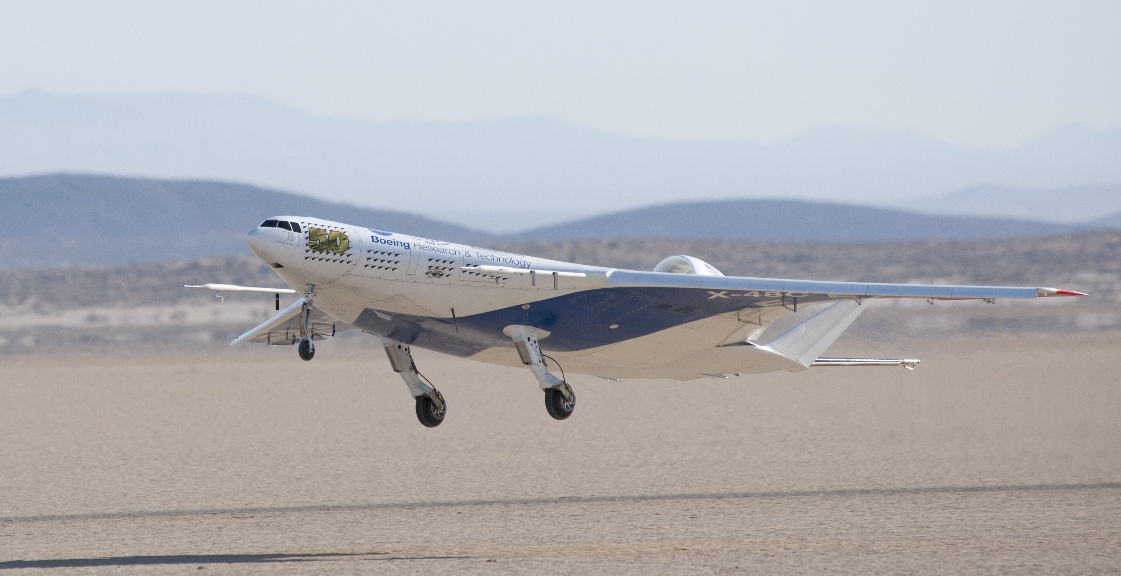nasa x 48 drone aircraft - photo #8