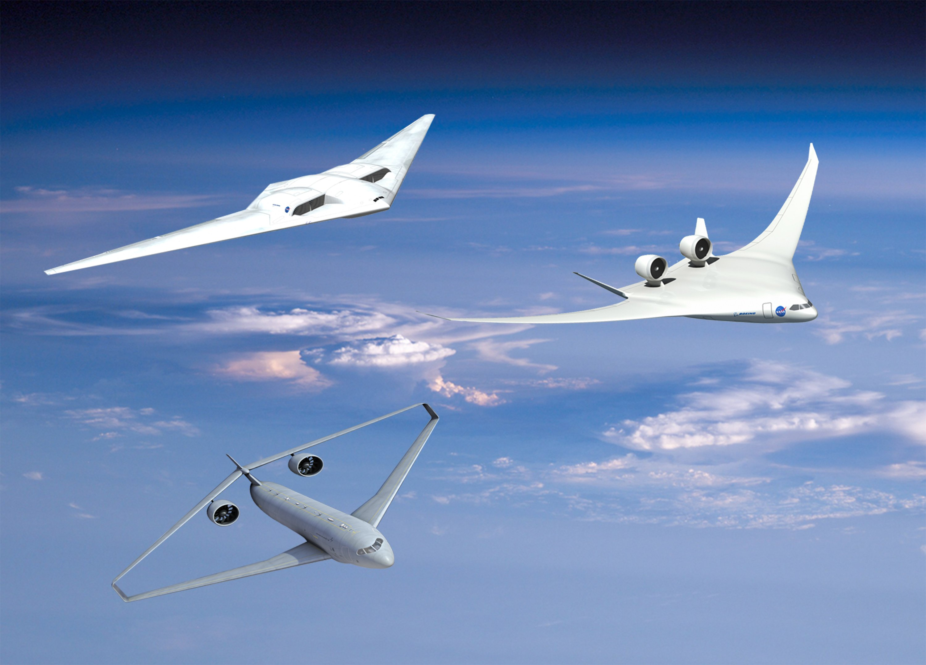nasa x 48 drone aircraft - photo #1