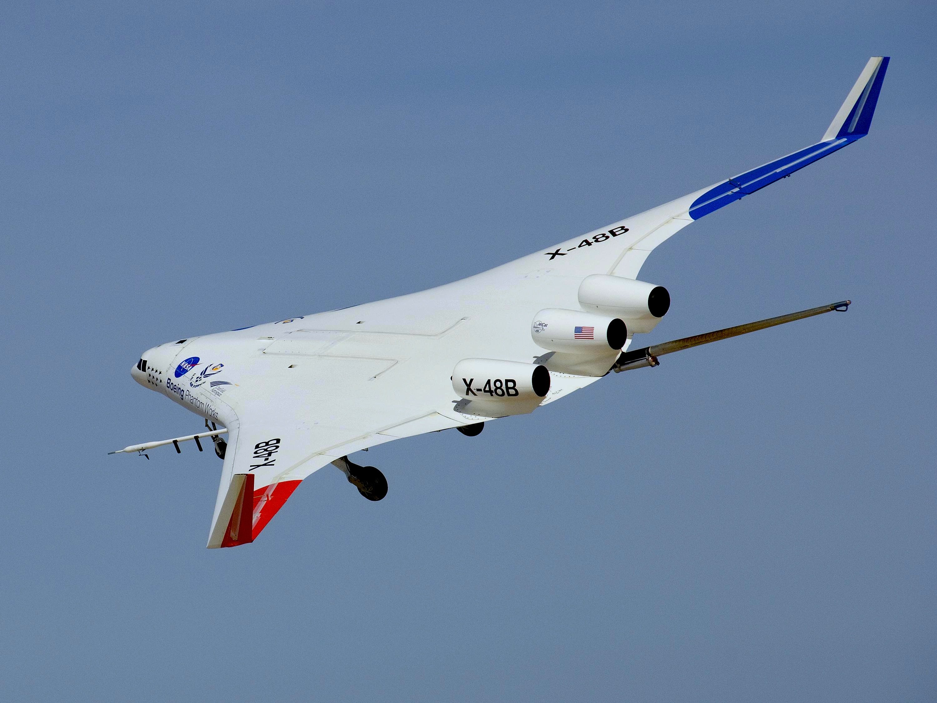 nasa x 48 drone aircraft - photo #9