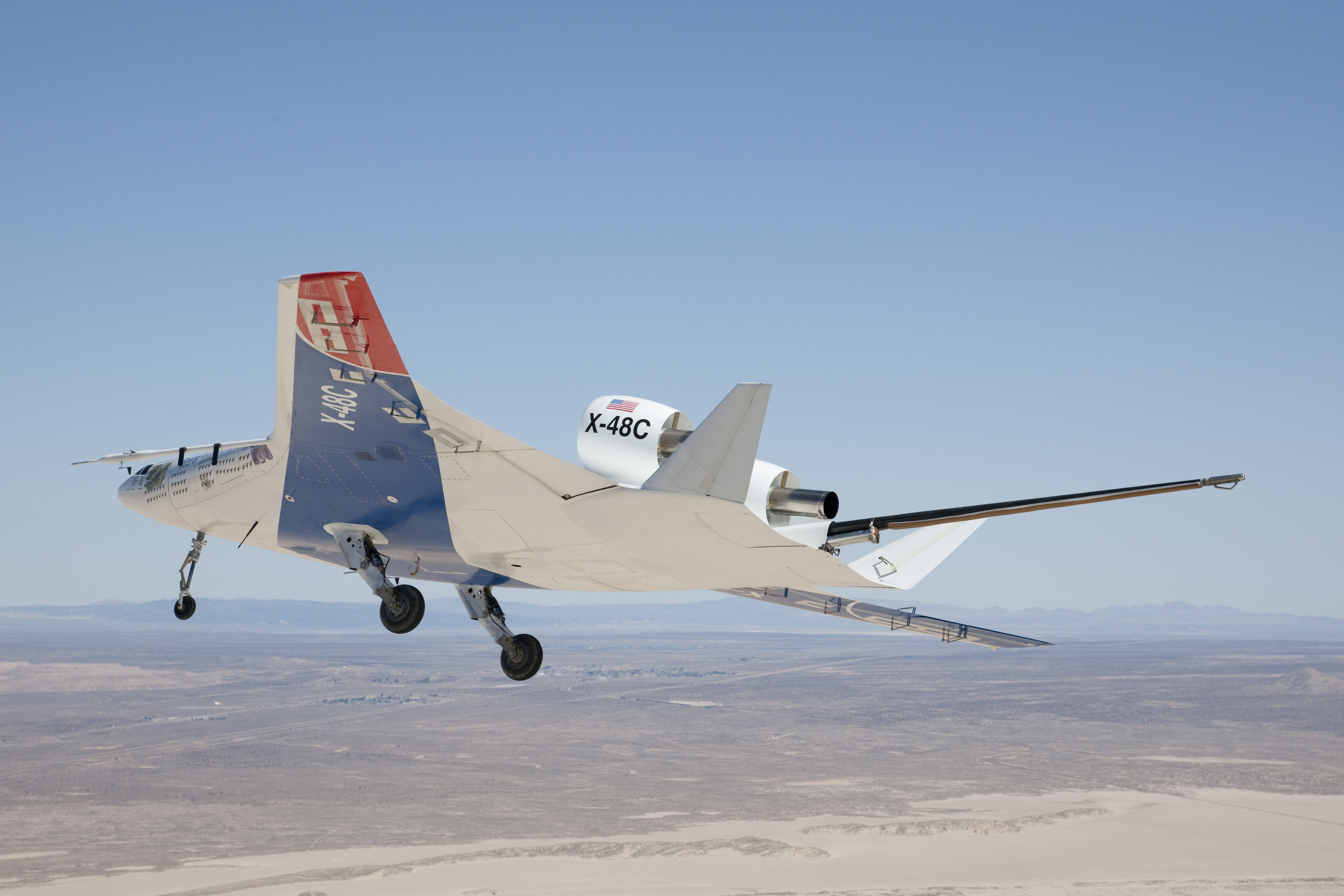 nasa x 48 drone aircraft - photo #2