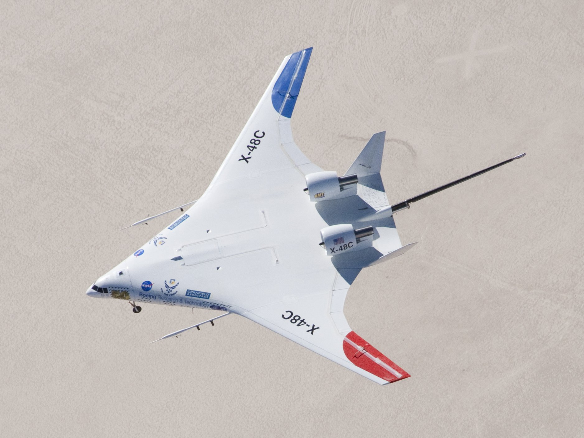 nasa x 48 drone aircraft - photo #7