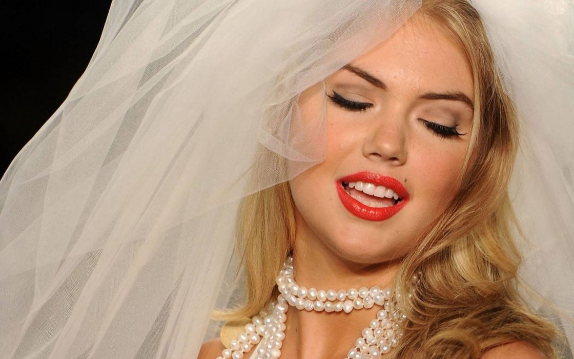 KATE UPTON actress model elite sexy babe blonde swimwear wedding bride wallpaper