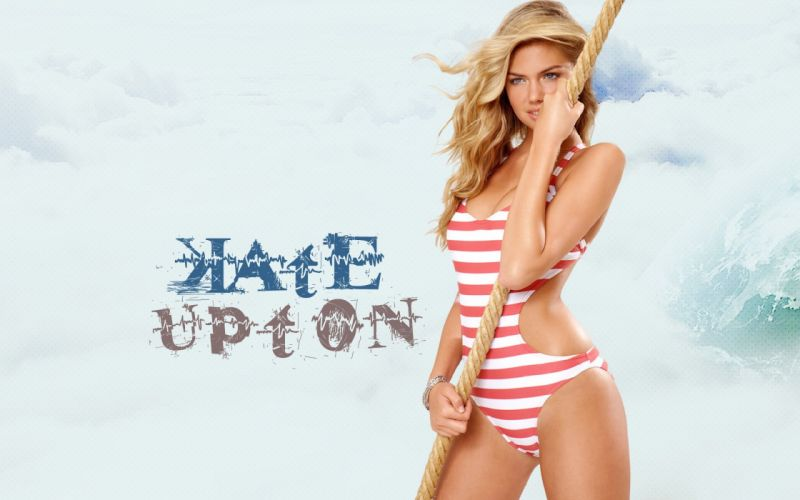KATE UPTON actress model elite sexy babe blonde swimwear bikini wallpaper