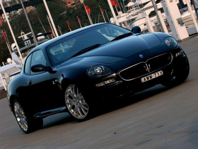 Maserati GranSport coupe cars wallpaper