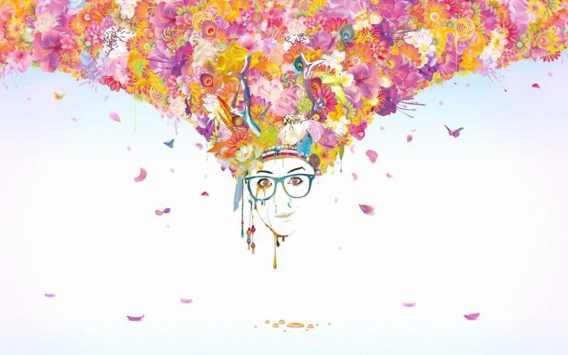 brain anatomy medical head psychedelic wallpaper
