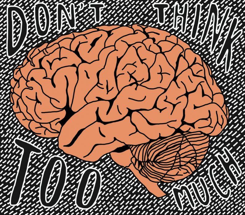 brain anatomy medical head skull psychedelic poster wallpaper