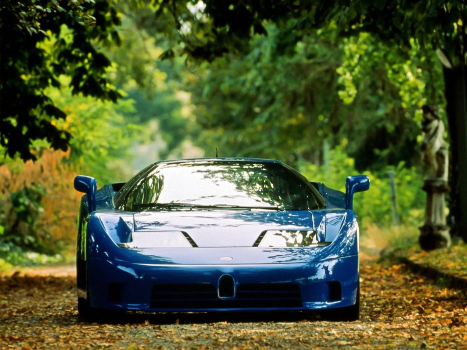 Bugatti EB110-GT Prototype cars supercars 1991 wallpaper