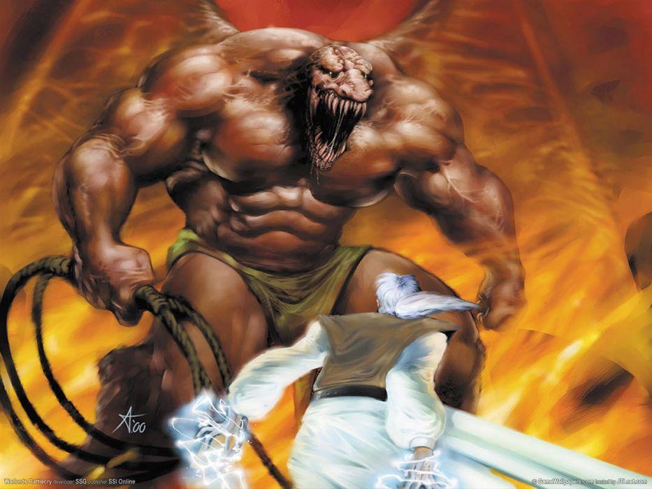 WARLORDS BATTLECRY fantasy strategy fighting wbc 1wbattlecry rpg combat warrior action wallpaper