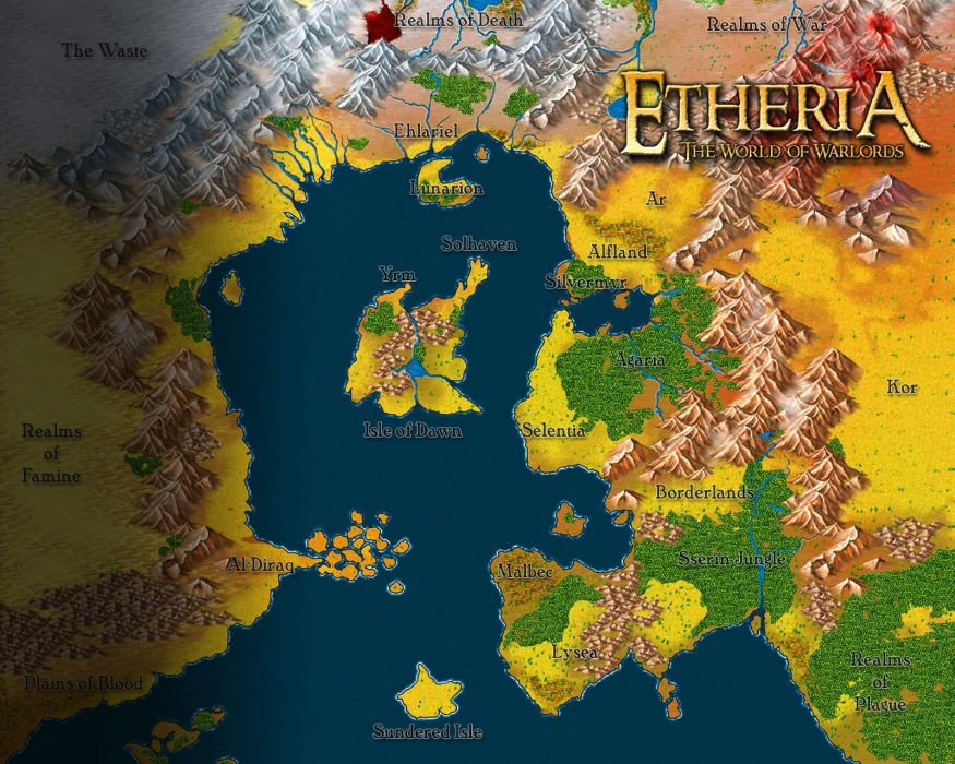 WARLORDS BATTLECRY fantasy strategy fighting wbc 1wbattlecry rpg combat warrior action poster map wallpaper
