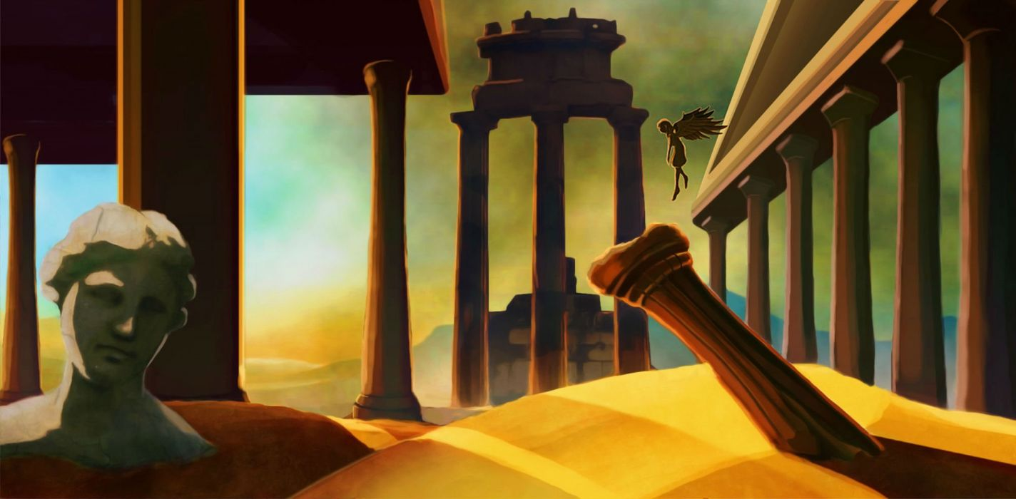 NYXQUEST platform fantasy greece gods god 1nyxquest icarian puzzle nintendo wii action Nyx Quest wallpaper