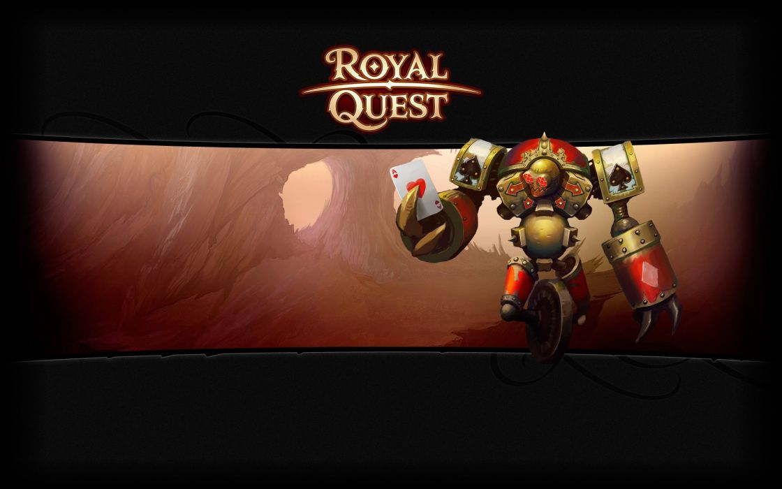 ROYAL QUEST fantasy mmo online rpg fighting technics action warrior poster wallpaper