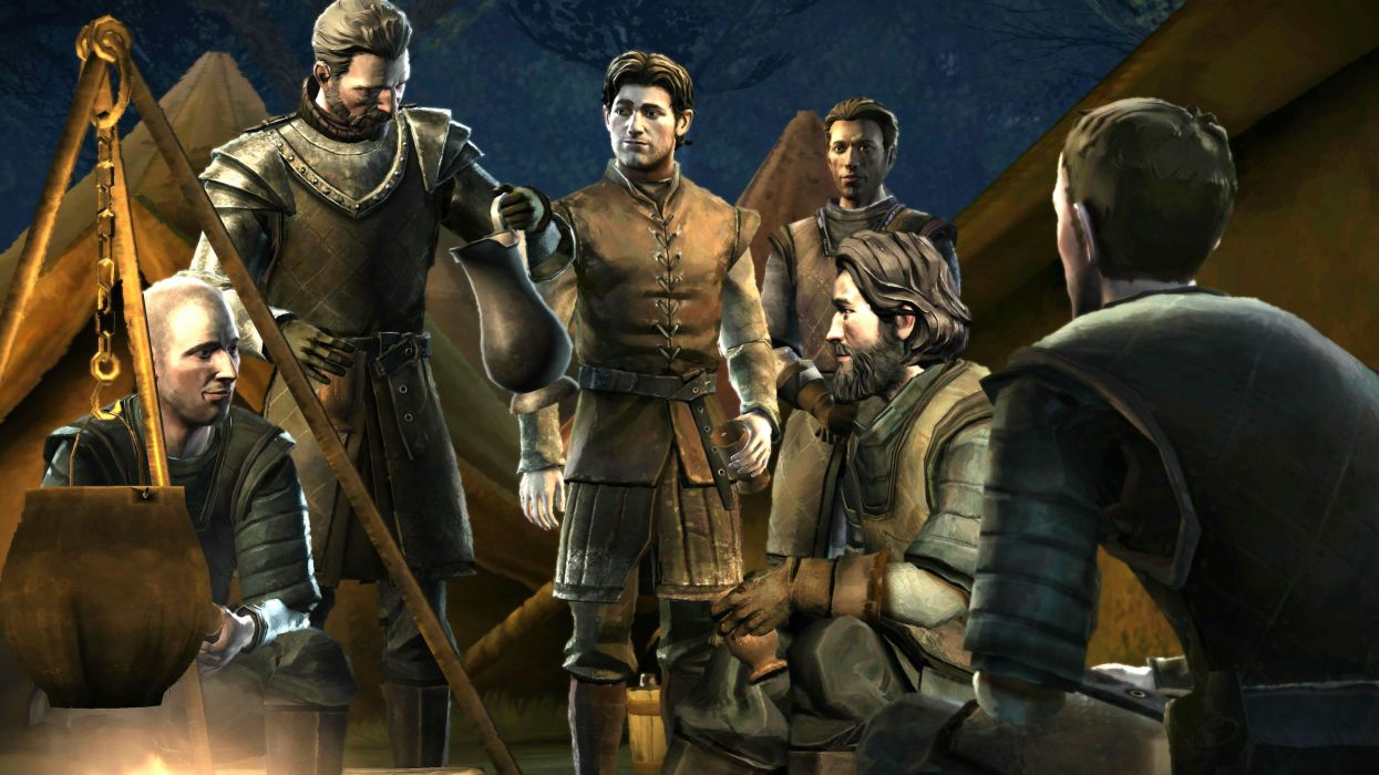 GAME Of THRONES Telltale Game Series fantasy fantasy drama hbo wallpaper