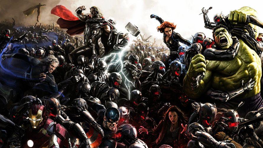 Age Of Ultron Comic-Con Poster wallpaper