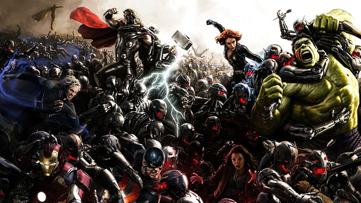 Age Of Ultron Comic-Con Poster wallpaper