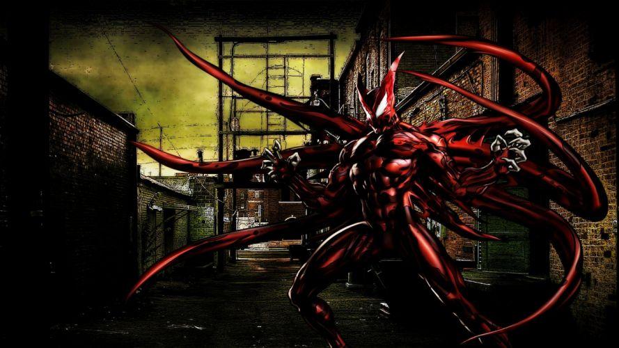 The Hybrid Symbiote wallpaper