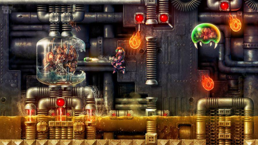 Super Metroid - Depths of Tourian wallpaper