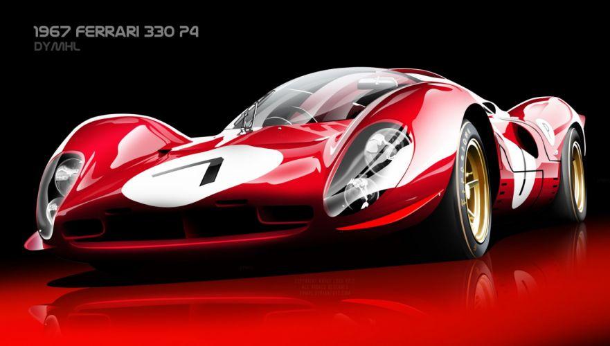 1967 Ferrari 330 P4 wallpaper