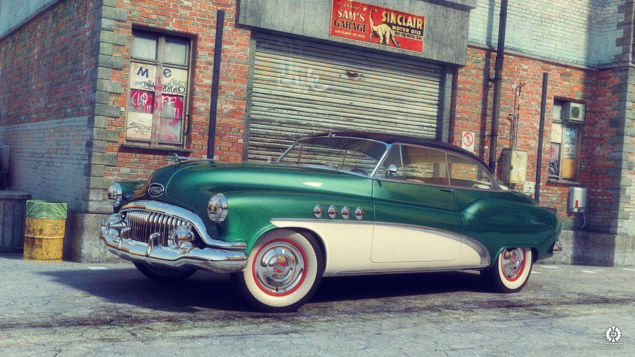 1952 Buick Roadmaster wallpaper