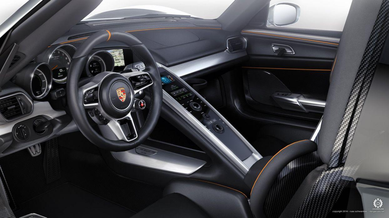 2015 Porsche 918 Interior wallpaper