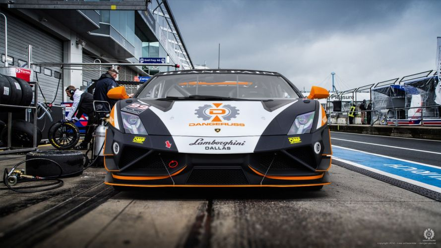 DRN Racing Gallardo Trofeo Front wallpaper