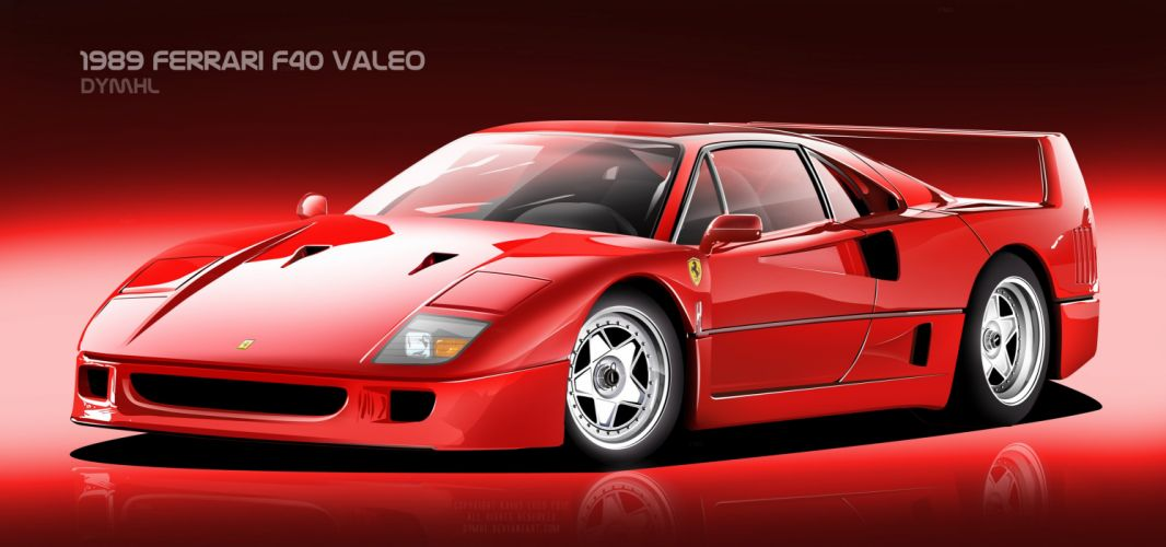 Ferrari F40 Valeo wallpaper