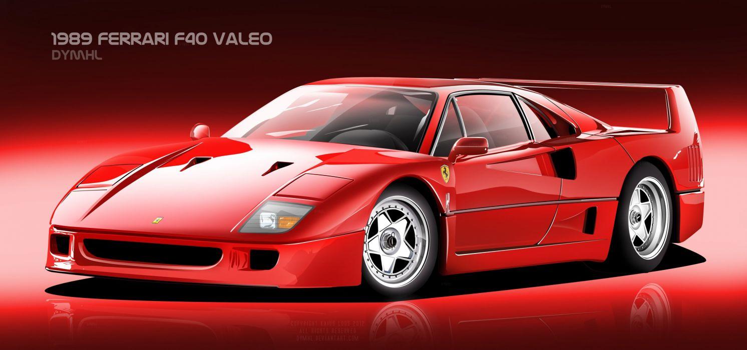 Ferrari F40 Valeo wallpaper