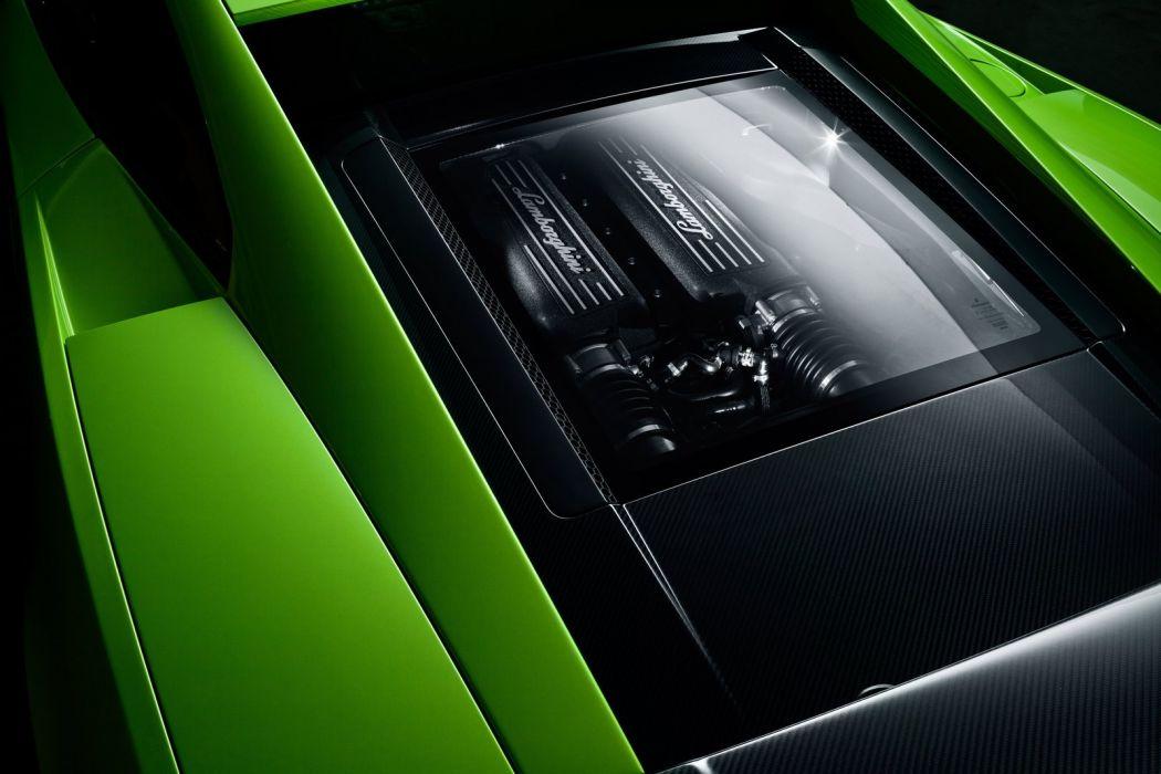 Lamborghini LP570-4 SL Engine wallpaper