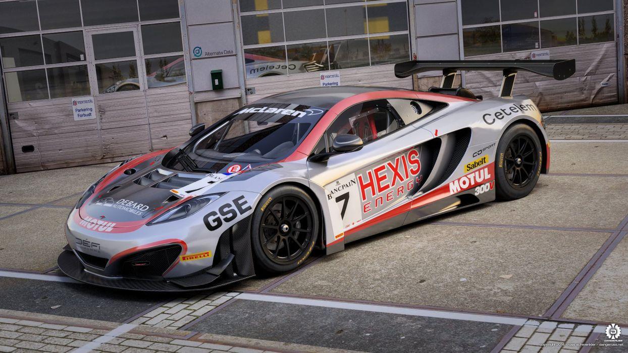 Hexis Racing Mclaren wallpaper