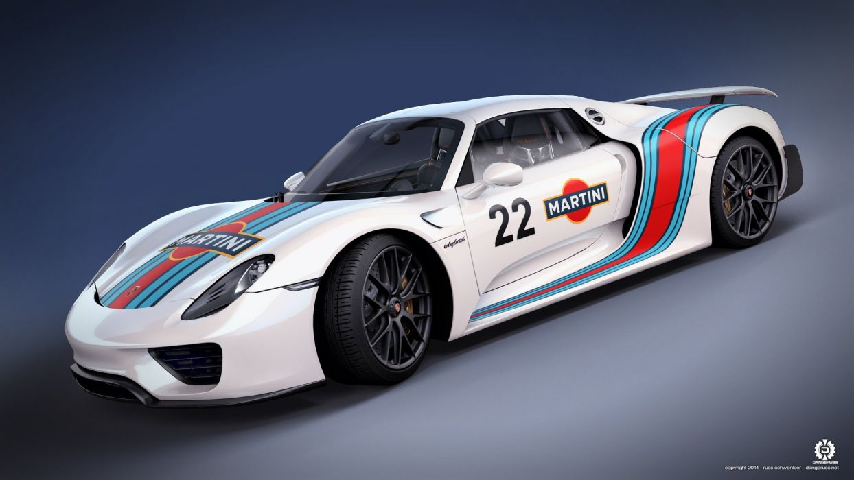 The Porsche 918 Spyder wallpaper
