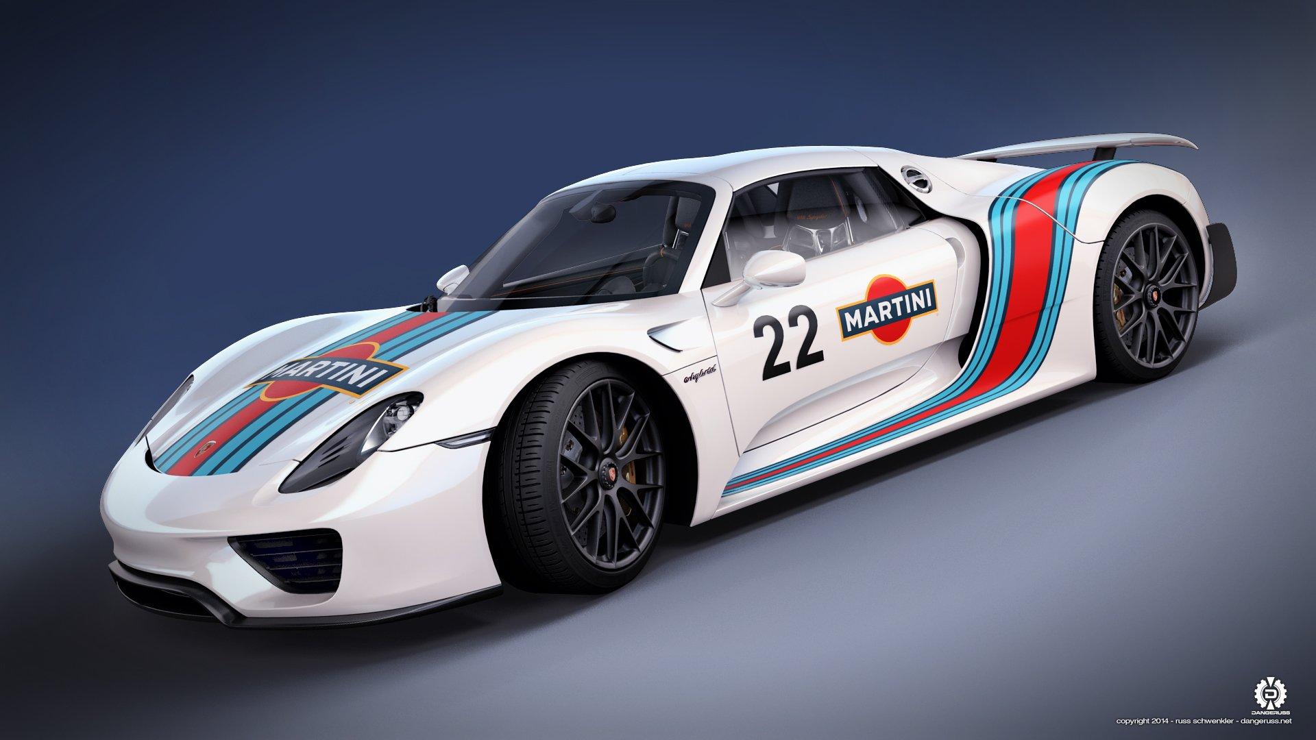 The Porsche 918 Spyder Wallpaper