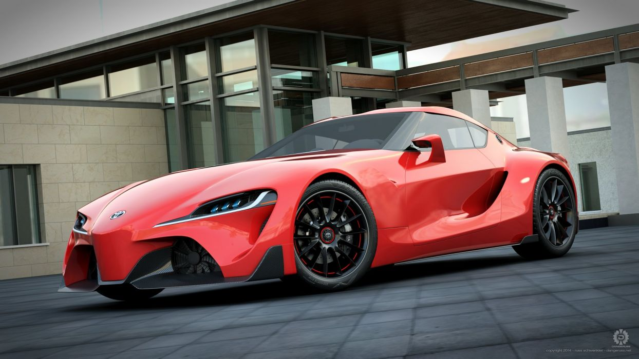Toyota's insanely sexy FT-1 Concept car wallpaper