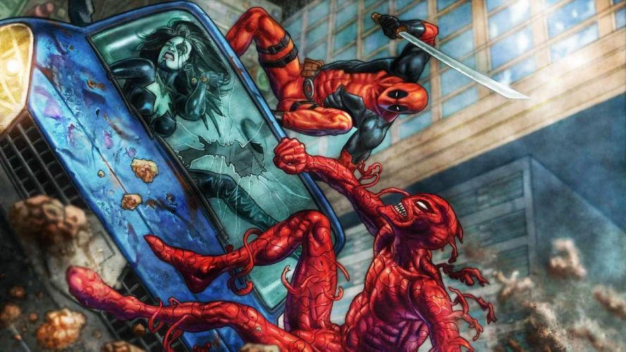 Deadpool Vs Carnage wallpaper