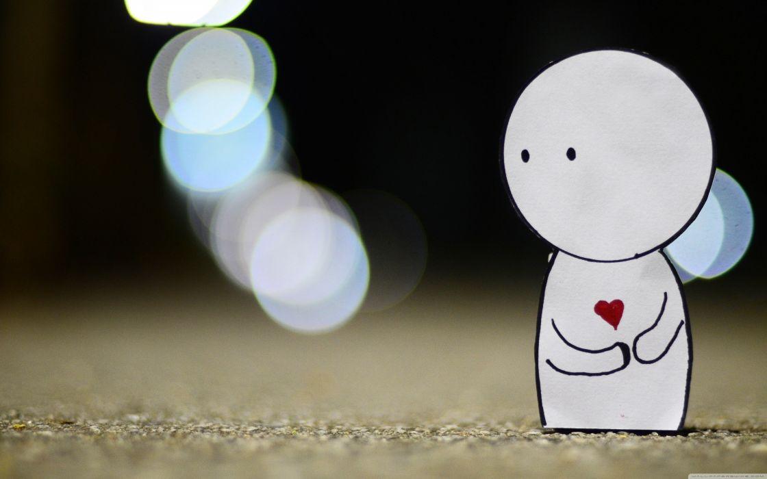 love mood bokeh-drawings-friends-hearts- wallpaper