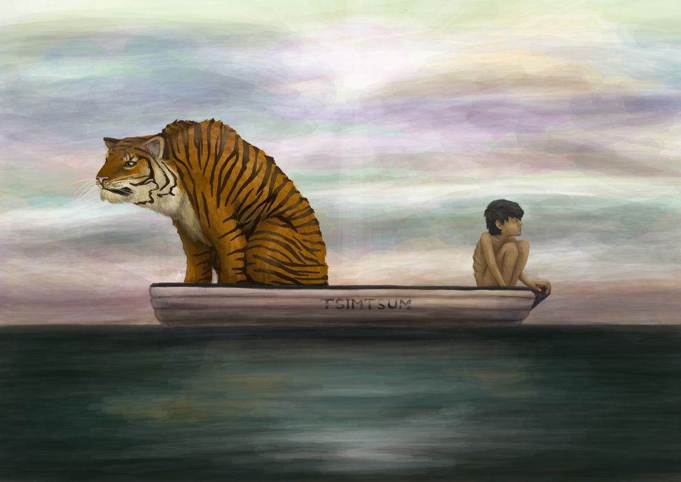 life of pi family adventure drama fantasy tiger d animation  life of pi family adventure drama fantasy tiger 3 d animation 1lifepi friend shipwreck predator