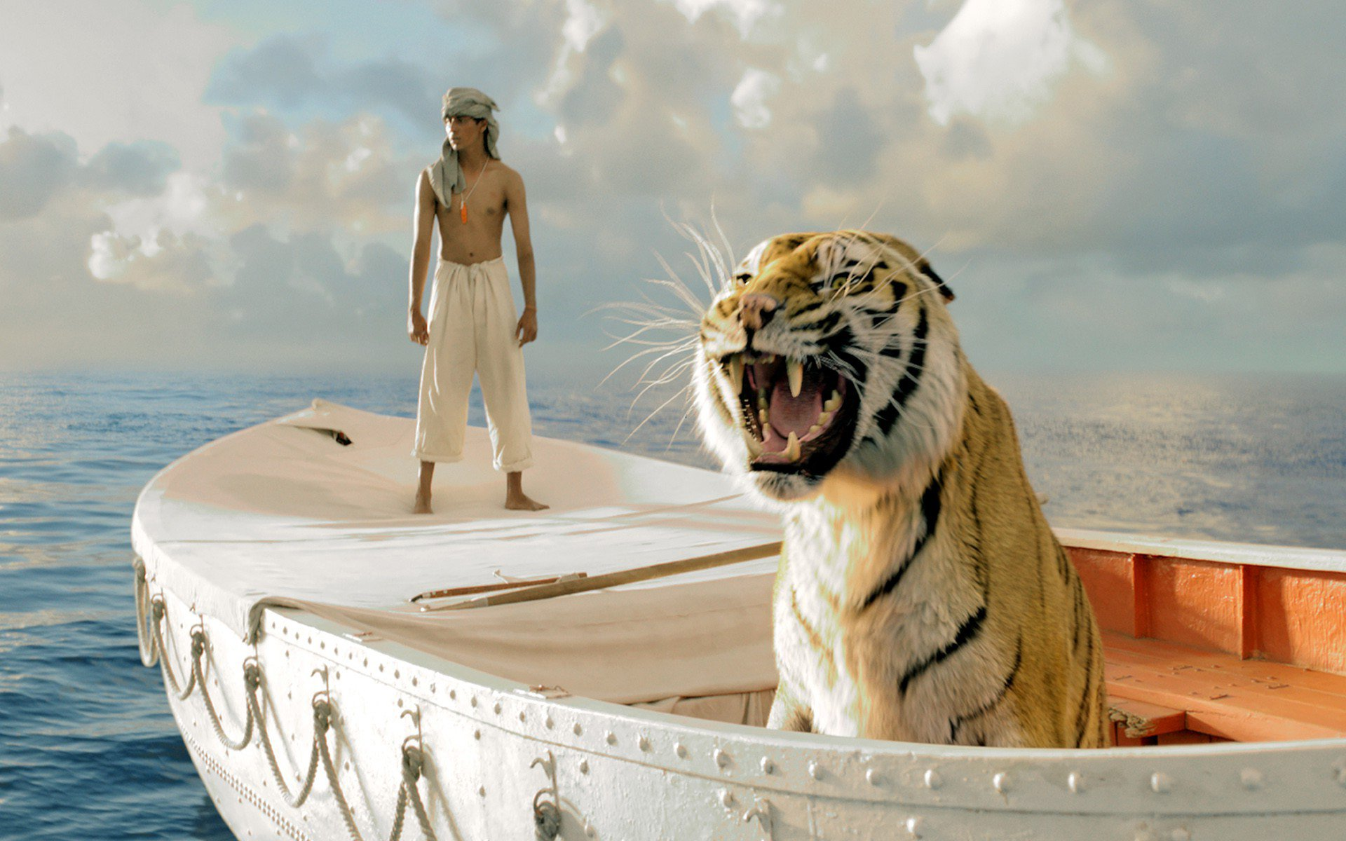 Life of pi family adventure drama fantasy tiger 3 d for Life of pi family