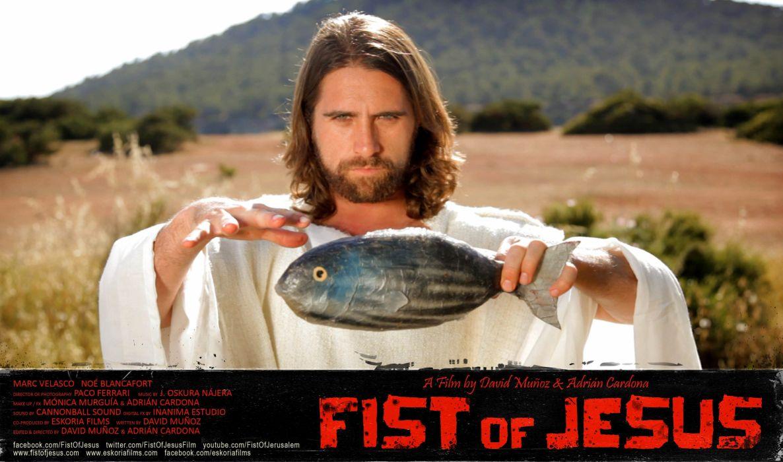FIST Of JESUS comedy action fighting arcade violence zombie 1fistjesus dark horror poster wallpaper
