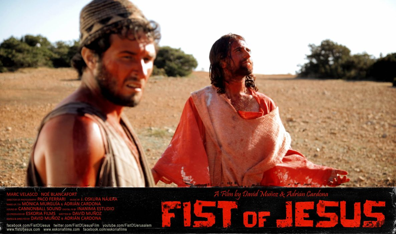 FIST Of JESUS comedy action fighting arcade violence zombie 1fistjesus dark horror poster blood wallpaper