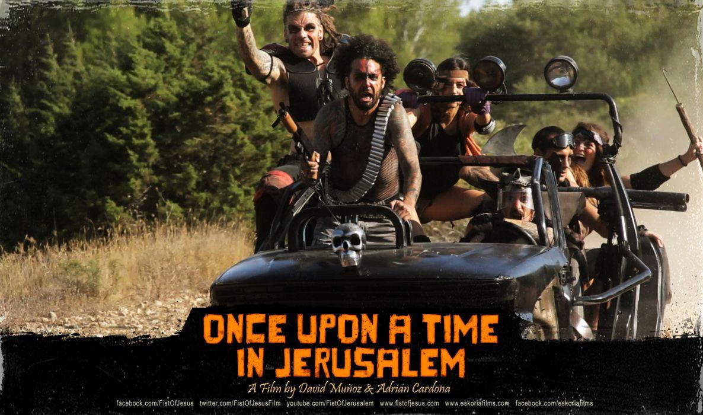 ONCE UPON TIME JERUSALEM comedy action fighting arcade violence zombie 1jerusalem dark horror wallpaper