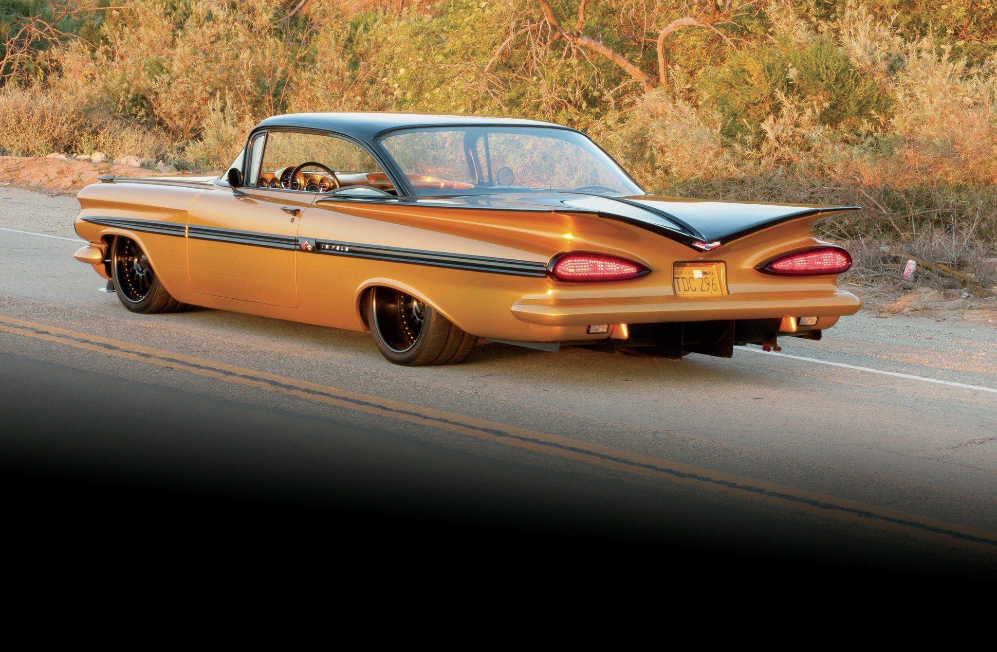 1959 Chevrolet Impala Hardtop-02 wallpaper