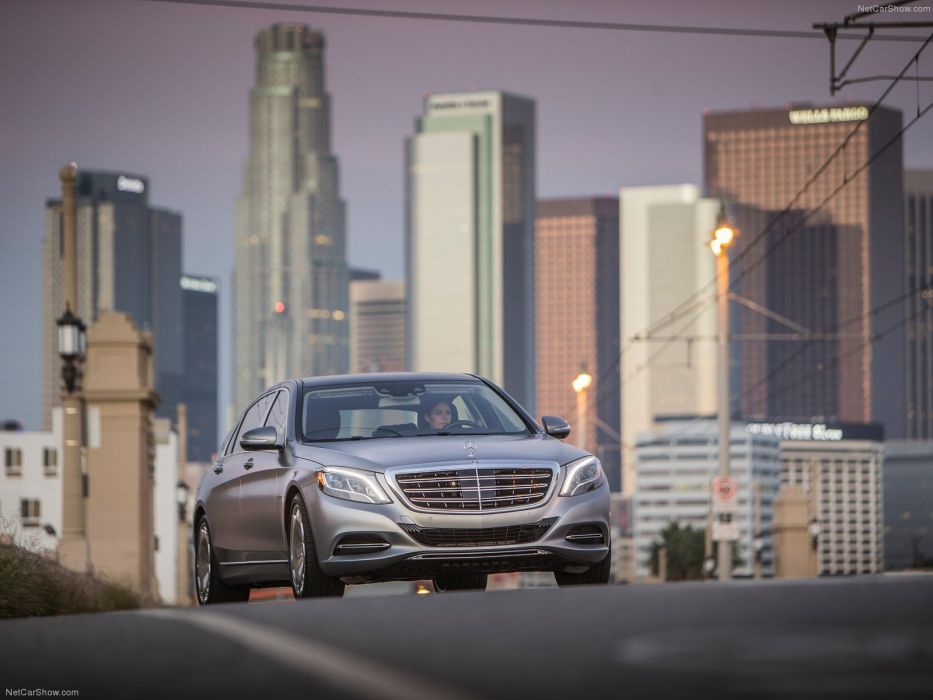 2015 cars limousine luxury maybach Mercedes s600 wallpaper