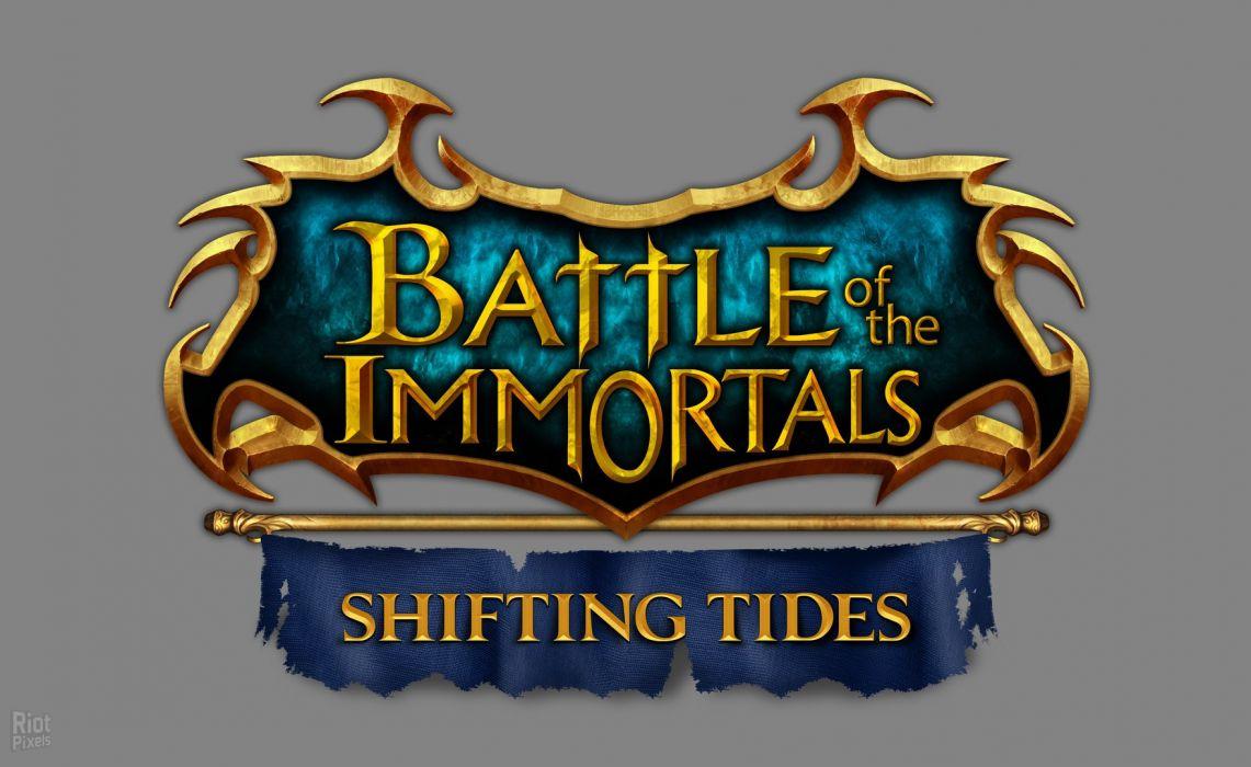 BATTLE Of The IMMORTALS mmo rpg fantasy fighting action 1bimmortals online warrior poster wallpaper