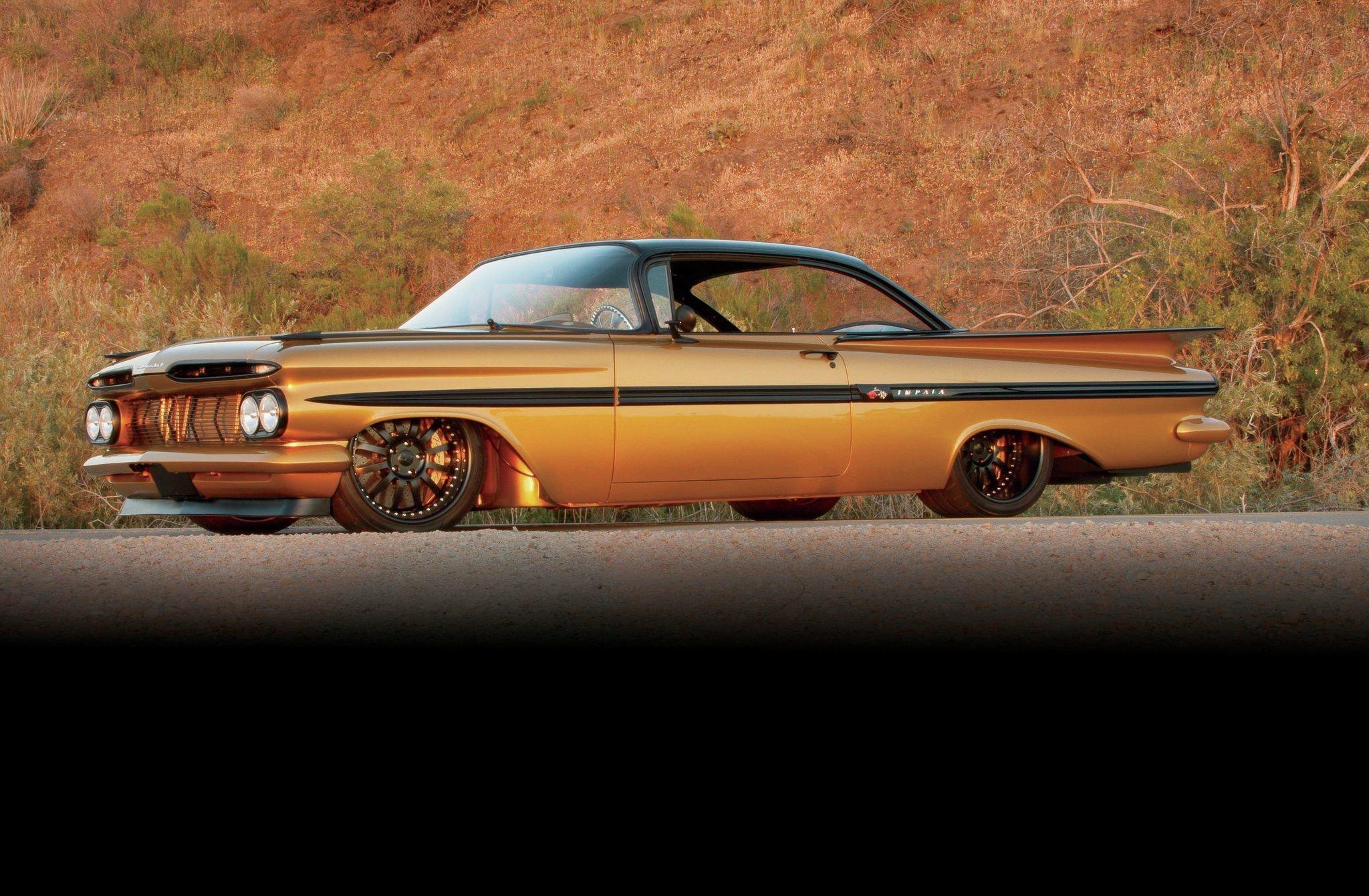 1959 Chevrolet Impala Hardtop-03 wallpaper