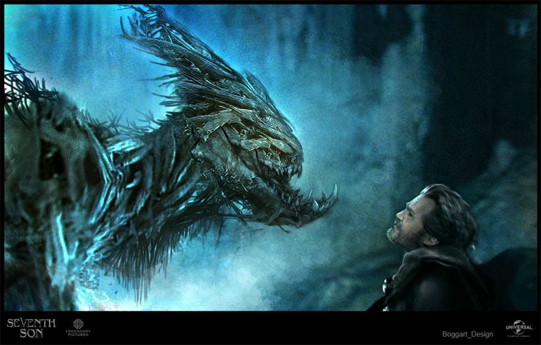 SEVENTH SON adventure fantasy action warrior poster dragon wallpaper