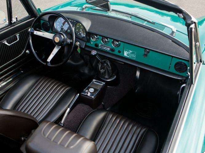 alfa romeo spider classic cars convertible vert green interior wallpaper