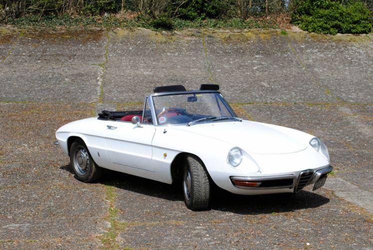 alfa romeo spider classic cars convertible blanc white wallpaper