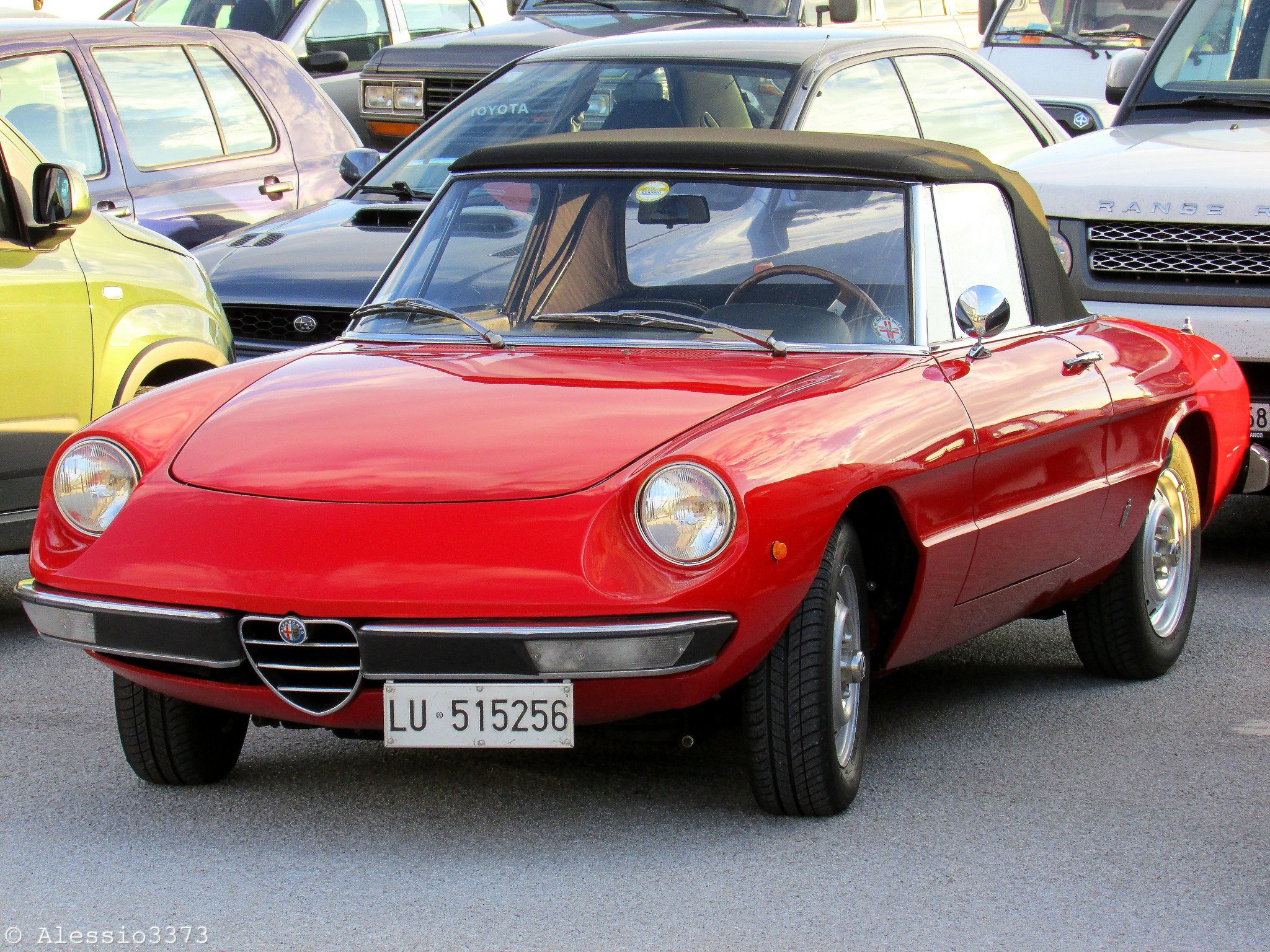 alfa romeo spider classic cars convertible red rouge wallpaper 2048x1536 616275 wallpaperup. Black Bedroom Furniture Sets. Home Design Ideas