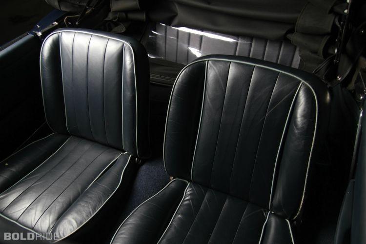 Alfa Romeo 2600 Spider classic cars convertible interior wallpaper