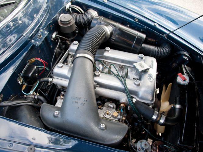 1600 1964 alfa classic giulia romeo speciale sprint engine moteur wallpaper