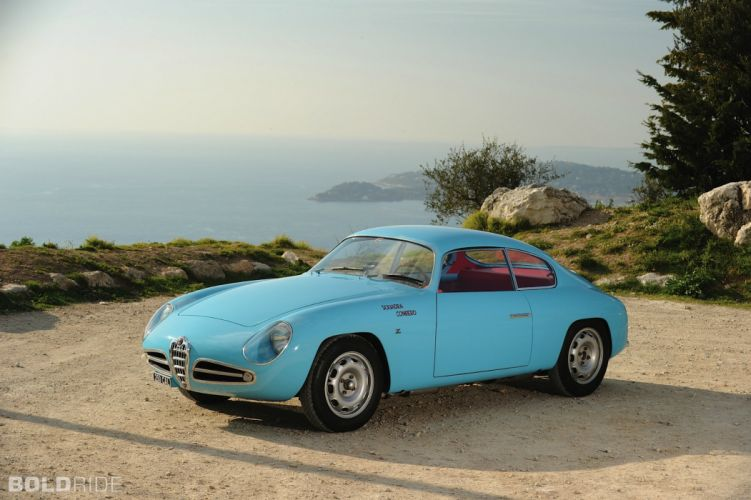 1958 Alfa Romeo Giulietta Sprint Veloce cars classic coupe wallpaper