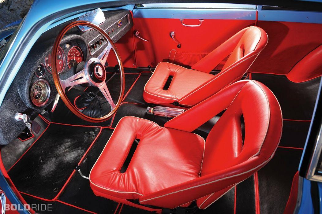 1958 Alfa Romeo Giulietta Sprint Veloce cars classic coupe interior wallpaper